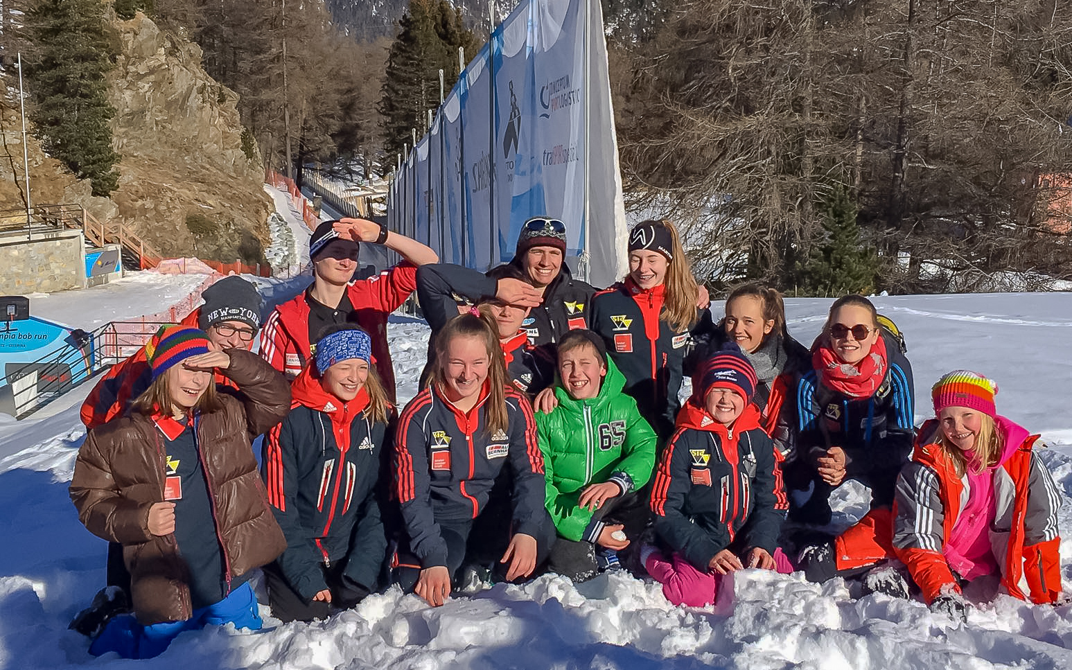 TBSV NLZ Trainingstag in St. Moritz Feb. 2017